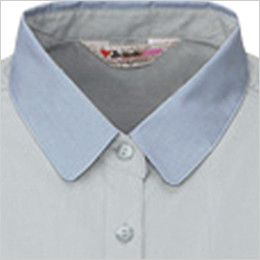 自重堂 45315 [春夏用]製品制電清涼レディース半袖シャツ(JIS T8118適合) 前立て比翼仕様