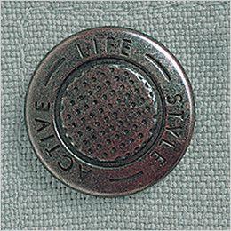自重堂 46904 エコ制電長袖シャツ デザインボタン