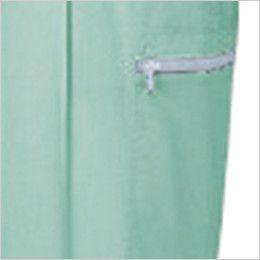 自重堂 47802 [春夏用]エコ 5バリュー ツータックカーゴパンツ(JIS T8118適合) 左ポケット