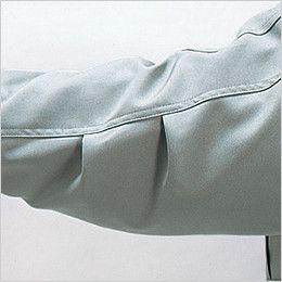 自重堂 48143 エコ防寒コート(フード付き・取り外し可能) タック