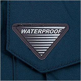 自重堂 48260 エコ防水防寒ブルゾン(フード付き・取り外し可能) ワンポイント
