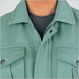自重堂 48270 エコ防寒ブルゾン(フード付き・取り外し可能) 衿ボア仕様