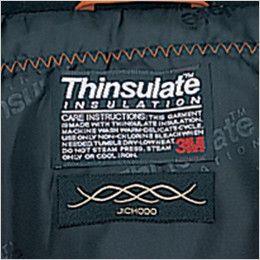 自重堂 48343 シンサレート防水防寒コート(フード付き・取り外し可能) 背ネーム