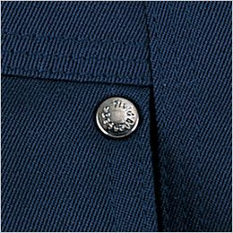 自重堂 48350 バイムウォーム防寒ブルゾン(フード付き・取り外し可能) オリジナルデザインボタン