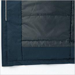 自重堂 48433 防水防寒コート(フード付・取り外し可能) 濡れ防止折返し仕様