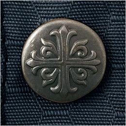 自重堂Jawin 51604 [秋冬用]長袖シャツ(年間定番生地使用) フロントボタン