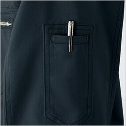自重堂Jawin 51804 [秋冬用]長袖シャツ(年間定番生地使用)(新庄モデル)  ペン差し