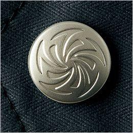 自重堂Jawin 51804 [秋冬用]長袖シャツ(年間定番生地使用)(新庄モデル) デザインボタン