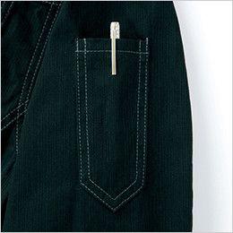 自重堂Jawin 51904 [秋冬用]長袖シャツ(年間定番生地使用)(綿100%) ペン差し
