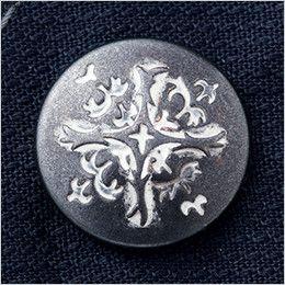 自重堂Jawin 52104 [秋冬用]長袖シャツ(新庄モデル)(年間定番生地使用) デザインボタン(大)