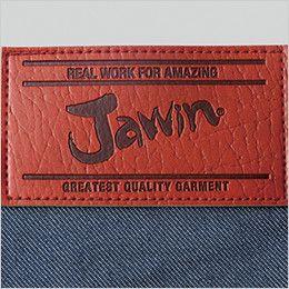 自重堂Jawin 52402 [秋冬用]ノータックカーゴパンツ(新庄モデル) 革ラベル