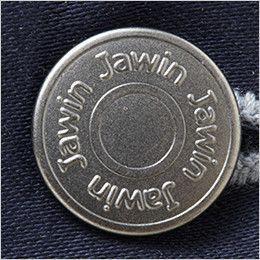 自重堂Jawin 52502 ストレッチノータックカーゴパンツ ロゴ入りタックボタン