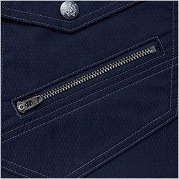 自重堂 54040  [春夏用]JAWIN 空調服 制電 半袖ブルゾン デザインファスナー