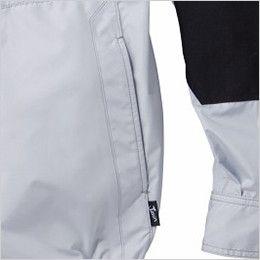 自重堂Jawin 54080 [春夏用]空調服 フルハーネス対応 長袖ブルゾン ポリ100% ポケット