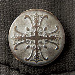 自重堂Jawin 55104 [春夏用]長袖シャツ(綿100%) オリジナルデザインボタン