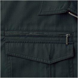自重堂Jawin 55204 [春夏用]長袖シャツ ファスナーポケット