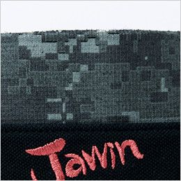 自重堂Jawin 55354 [春夏用]鹿の子半袖ポロシャツ カモフラプリント