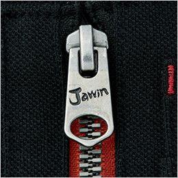 自重堂Jawin 55354 [春夏用]鹿の子半袖ポロシャツ ロゴ入りスライダー