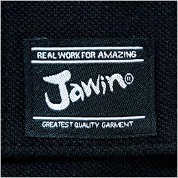 自重堂Jawin 55354 [春夏用]鹿の子半袖ポロシャツ ワンポイント