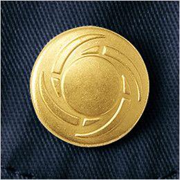 自重堂Jawin 55504 長袖シャツ オリジナルデザインボタン