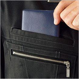 自重堂Jawin 55804 [春夏用]長袖シャツ(新庄モデル) 二重ポケット