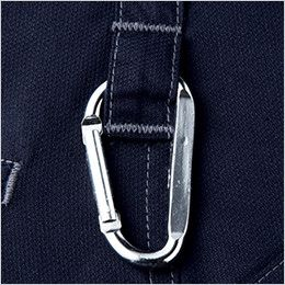 自重堂Jawin 56002 [春夏用]ノータックカーゴパンツ(新庄モデル) 裾上げNG カラビナループ