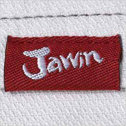 自重堂Jawin 56201 [春夏用]ノータックパンツ(新庄モデル) ワンポイント