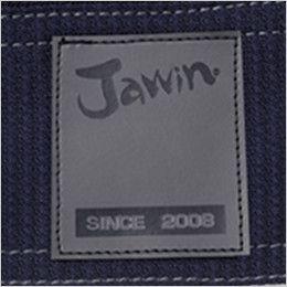 自重堂Jawin 56704 [春夏用]ストレッチ長袖シャツ 背当て Jawinロゴ入りワッペン