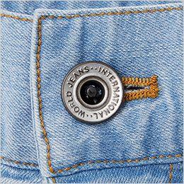自重堂Jawin 56902 [春夏用]ストレッチノータックカーゴパンツ タックボタン