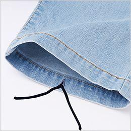 自重堂Jawin 56902 [春夏用]ストレッチノータックカーゴパンツ パンツ裾紐通し穴(紐は付属しません)