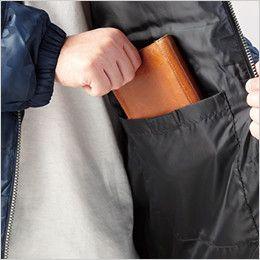 自重堂Jawin 58500 [秋冬用]防寒ジャンパー 内ポケット
