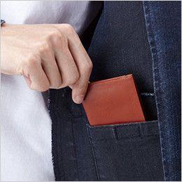 自重堂 71600 Z-DRAGON ストレッチデニムジャンパー 内ポケット