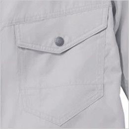 自重堂 74080 [春夏用]Z-DRAGON 空調服 長袖ブルゾン ポリ100% 左胸 ポケット