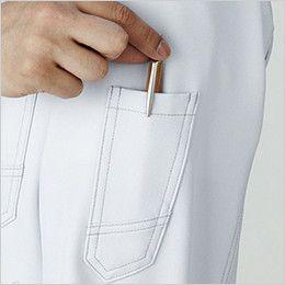 自重堂 75304 Z-DRAGON 製品制電長袖シャツ(男女兼用)  ペン差し