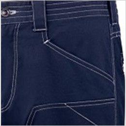 自重堂 75802 [春夏用]Z-DRAGON ストレッチノータックカーゴパンツ フルハーネス対応 ポケット