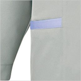 自重堂 80305 エコ低発塵製品制電スモック(JIS T8118適合) 縫製仕様両脇ポケット