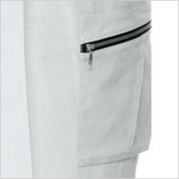 自重堂 82102 ストレッチ ワンタックカーゴパンツ ポケット