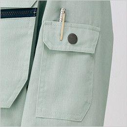 自重堂 82200 製品制電吸温発熱長袖ブルゾン(JIS T8118適合) ペン差し