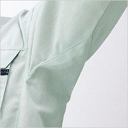 自重堂 82200 製品制電吸温発熱長袖ブルゾン(JIS T8118適合) ウイングアーム