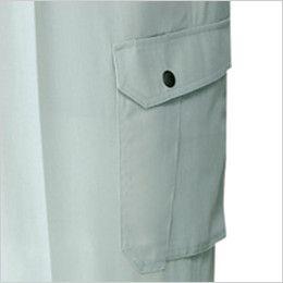 自重堂 82202 製品制電吸温発熱ワンタックカーゴパンツ(JIS T8118適合) ポケット