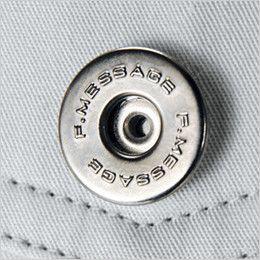 自重堂 84202 [春夏用]ストレッチ ツータックカーゴパンツ デザインボタン