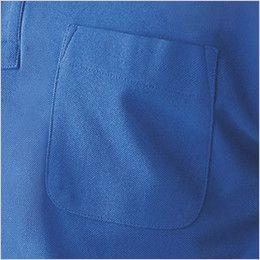 自重堂 85254 エコ製品制電半袖ポロシャツ(胸ポケット有り)(JIS T8118適合) ポケット付き