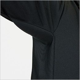 自重堂 85884 吸汗速乾長袖ポロシャツ(胸ポケット有り) 消臭&抗菌テープ