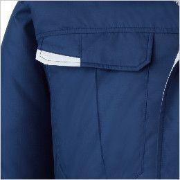 自重堂 87010SET [春夏用]空調服セット 長袖ブルゾン ポリ100% フラップポケット