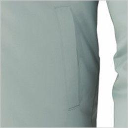 自重堂 87040 [春夏用]空調服 制電 長袖ブルゾン ポケット