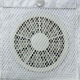 KU9054FSET [春夏用]空調服セット フルハーネス対応空調服(プラスチックドットボタン) ファンの脱落防止用メッシュ