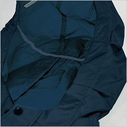 KU91410 [春夏用]空調服 フード付綿薄手ブルゾン すべり止め