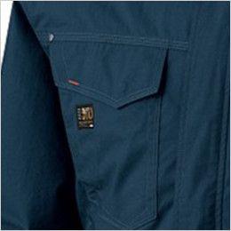 KU91410 [春夏用]空調服 フード付綿薄手ブルゾン ポケット