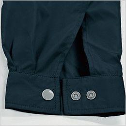 KU91410 [春夏用]空調服 フード付綿薄手ブルゾン ダブルボタン