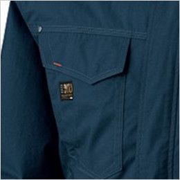 KU91410SET 空調服 フード付綿薄手ブルゾン ポケット